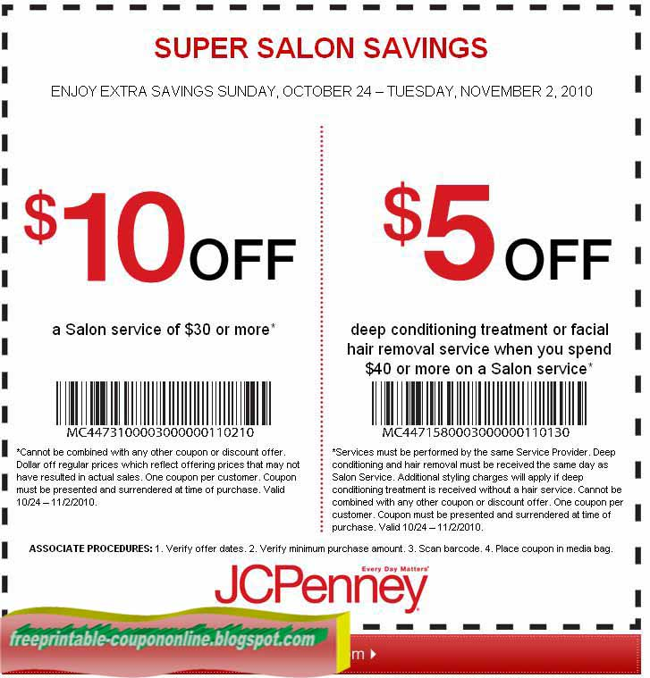 Printable coupons 2018 jcpenney coupons for Jc penneys