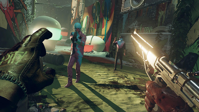 deathloop official gameplay walkthrough state of play 2021 upcoming retro-styled action shooter arkane studios bethesda softworks windows pc playstation 5 timed exclusive blackreef murder puzzle