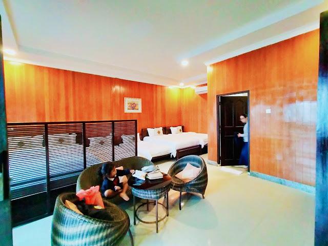 Seafront Family  Bintan Spa Villa