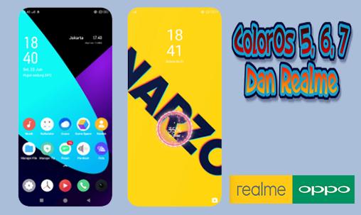 Realme Narzo UI Tema Oppo ColorOs 5, 6, 7 Dan Realme