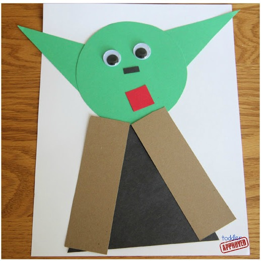 Toddler approved star wars crafts and activities for kids for Star wars arts and crafts