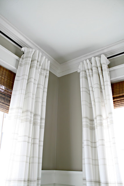 Easy pleated drapes with no sewing
