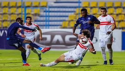 التشكيل الرسمي للفريقين لمواجهة الزمالك ضد بيراميدز بـ الدوري المصري