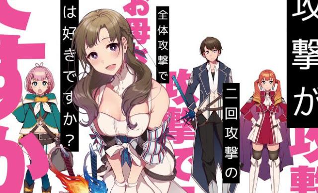 Lihat Trailer Terbaru dari Anime 'Tsūjō Kōgeki ga Zentai Kōgeki de Ni-kai Kōgeki no Okā-san wa Suki desuka?'