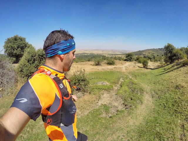 El última tercio de la ruta se realiza por praderas y llanuras
