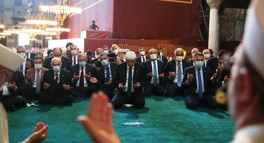 """الكنيسة الأرثوذكسية الروسية تعتبر قرار تحويل """"آيا صوفيا"""" إلى مسجد متسرعا"""