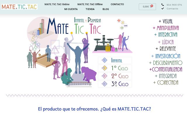 Tienda online del Proyecto MATE.TIC.TAC