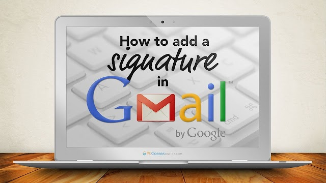 How To Add Auto Signature In Gmail....??