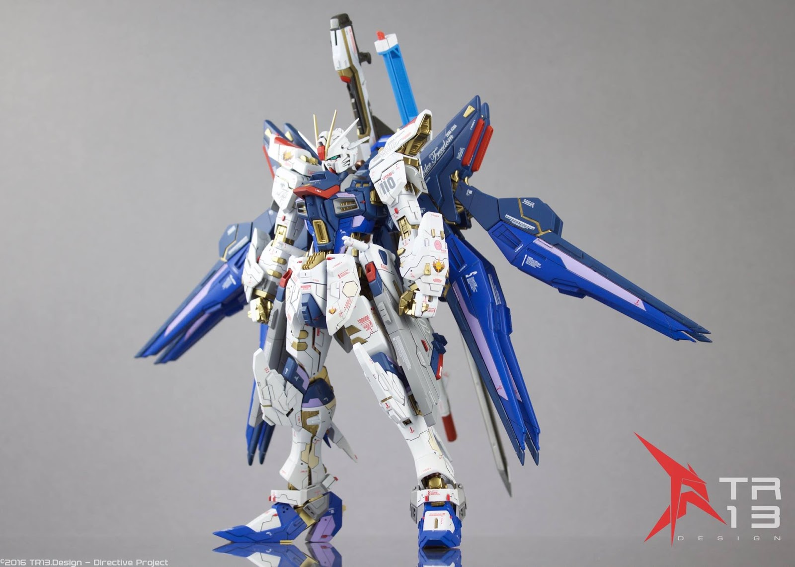 GUNDAM GUY: MG 1/100 Strike Freedom Gundam [Strike Falken ...