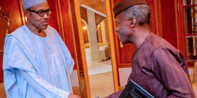 Buhari, Osinbajo, governors, party leaders attend APC NEC