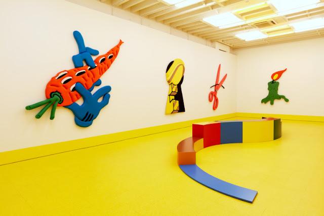 """Marigolds"" Exhibition by Alex Da Corte at Karma"
