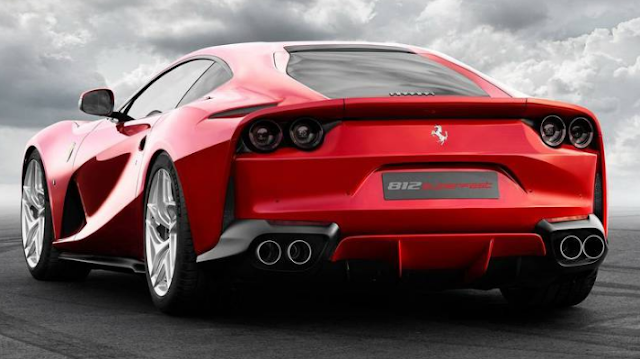 2018 Ferrari 812 Superfast Back View