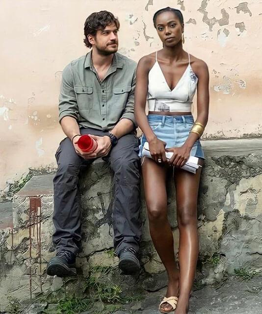 Sereia Camila e o policial Erik Cidade Invisivel