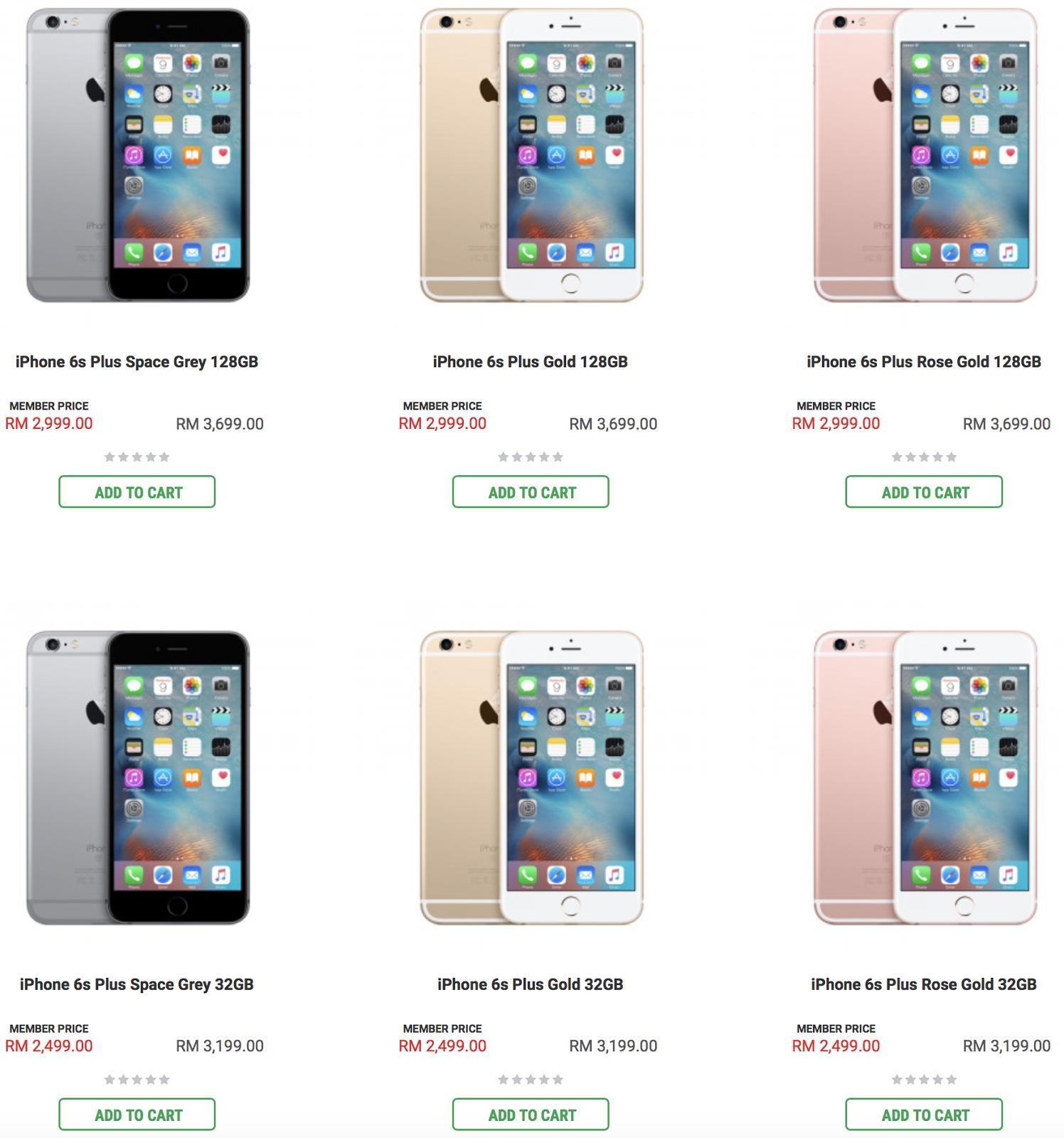 Iphone  Plus Price In Malaysia