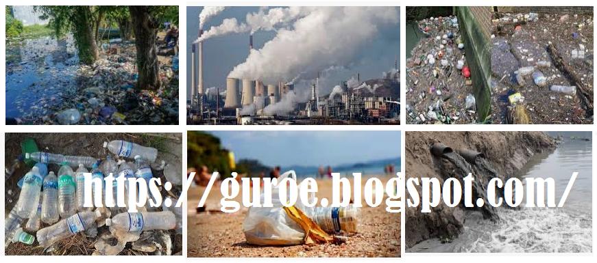 Perubahan Lingkungan, Jenis Pencemaran, Penyebab Pencemaran, dan Cara Pencegahan dan Penanggulangan Pencemaran