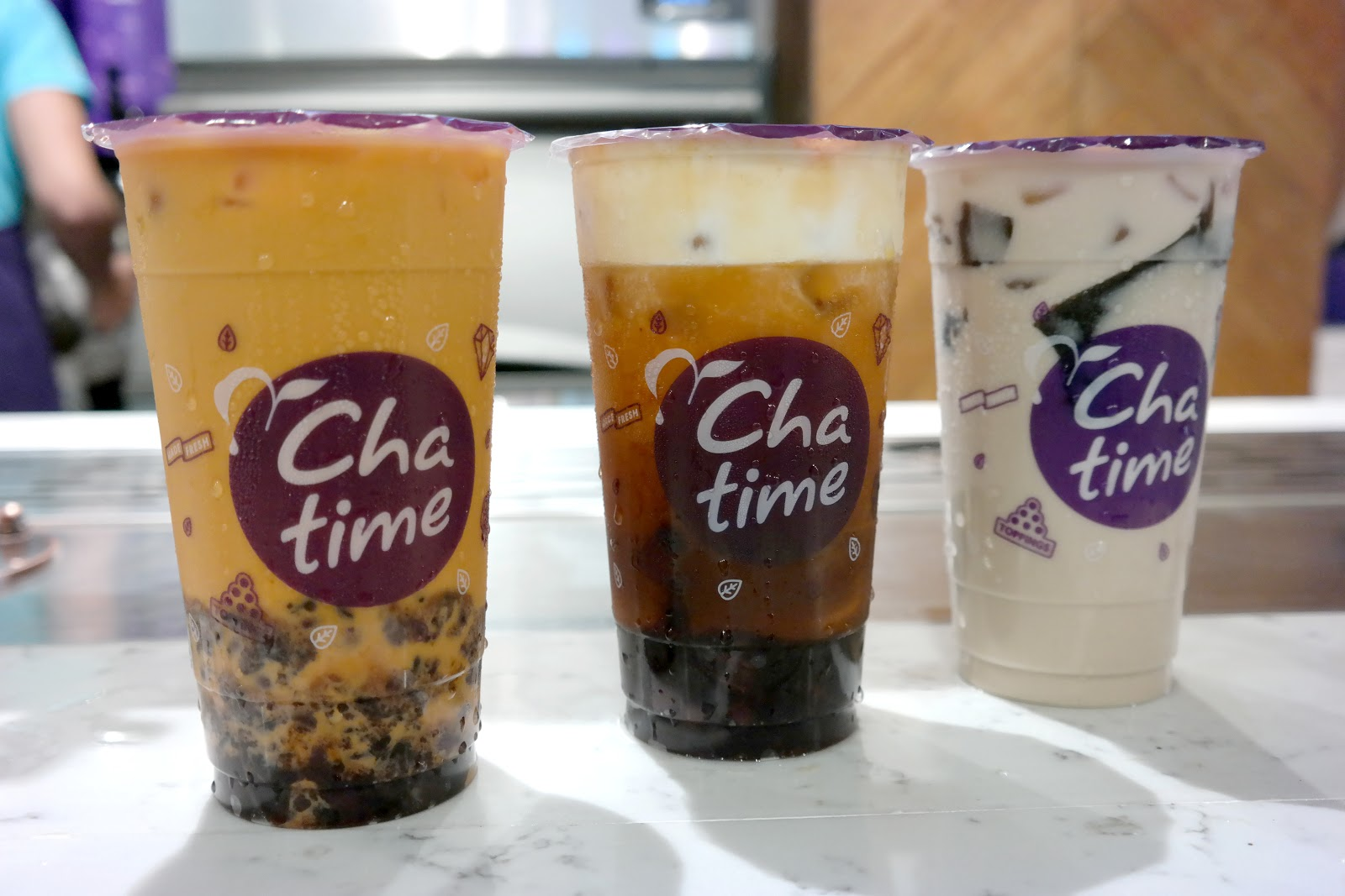 Sand Under My Feet: What's New at Chatime?