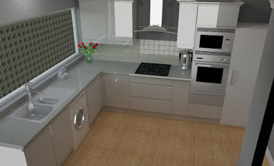 Gloss Grey Kitchen in Woodlesford Leeds