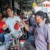 Sihar Sitorus Disambut Antusias Para Pedagang di Deli Mas Lubukpakam