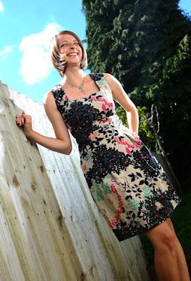 patrón gratis vestido Danielle de Burda