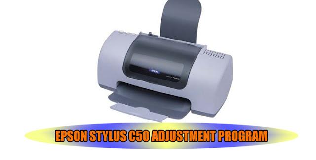 Epson Stylus C50 Printer Adjustment Program