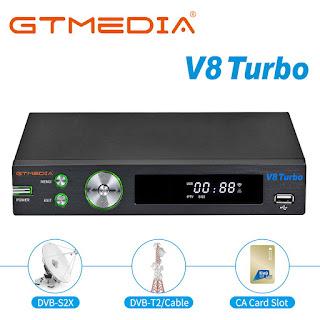 سوفت جديد لجهاز GTMedia V8 Turbo