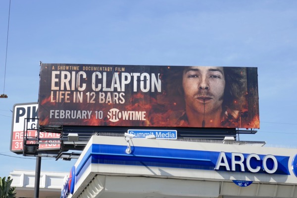 Eric Clapton Life in 12 Bars billboard