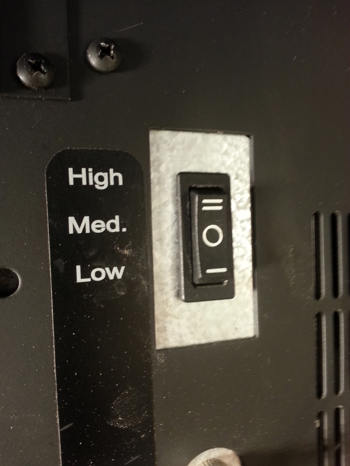 medium resolution of even though the stove lights itself i still have to select high medium or low manually i can t just set it on high and leave it alone