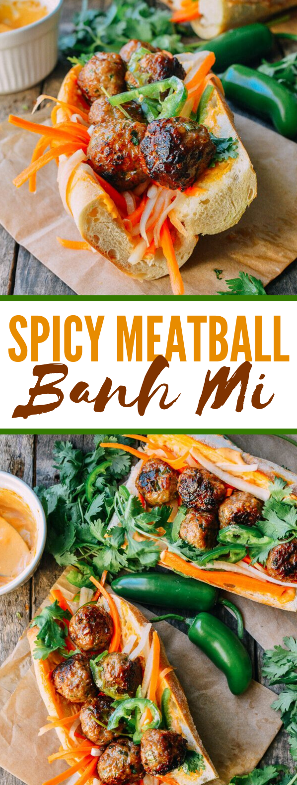 Meatball Banh Mi #dinner #lunch