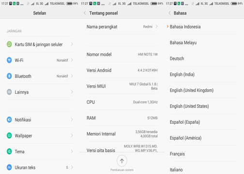 CHEDOYA DROID: ROM MIUI 7 GLOBAL 6.1.8 FOR ADVAN S5e New
