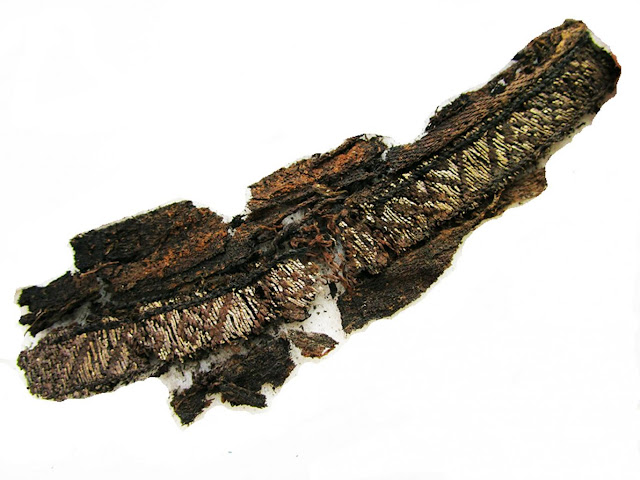 Ancient Viking burial fabrics found to have name of Allah woven into them