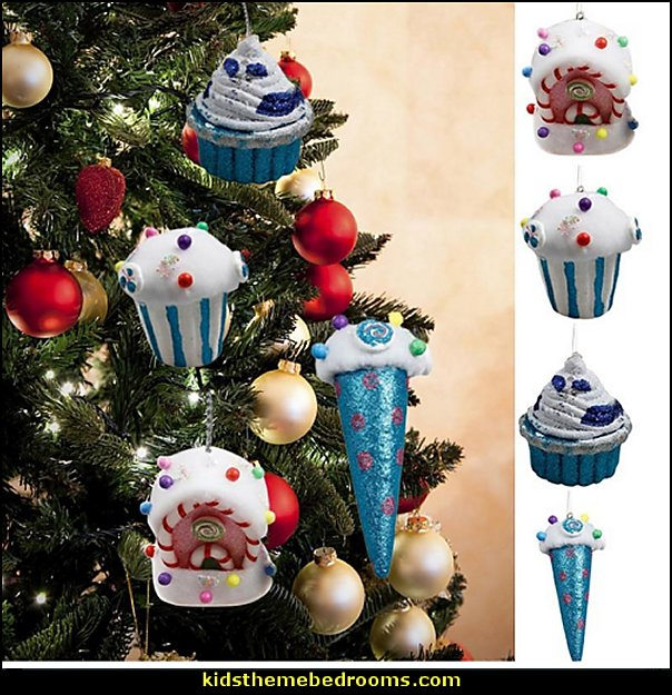 Foam Candy Xmas Christmas Ornaments  candy Christmas theme decorating - candy themed christmas decorations - christmas candyland decorations -  candy ornaments -  candy shaped holiday ornaments - candy themed Christmas decor -   lollipop candy swirls Throw Pillows - Candy Christmas Tree  - candy stripe Chritmas decor - Candy Cupcake Ornaments