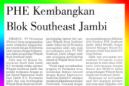 PHE Develops Southeast Jambi Block