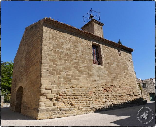 CAIRANNE (84) - Les remparts médiévaux et le donjon des Templiers