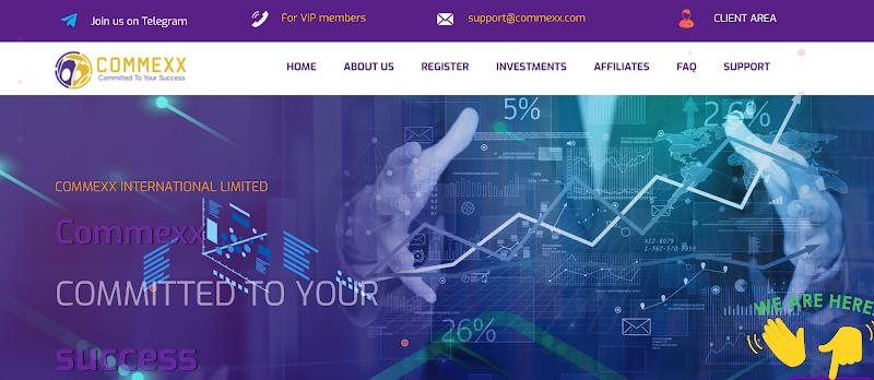 [SCAM] Review Commexx - Dự án với gói lãi lạ lên đến 6% hằng ngày - Thanh toán tức thì