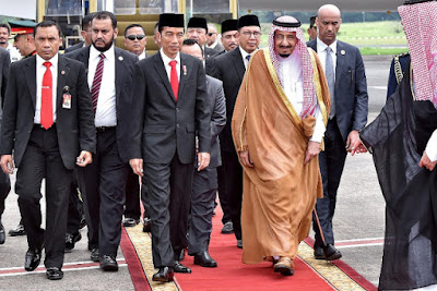 Allahu Akbar, Inilah 3 Ayat Kemenangan Umat Islam Dalam Kunjungan Raja Salman ke Indonesia