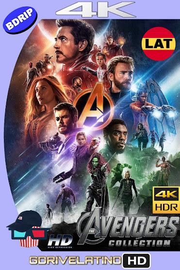 Avengers Colección (2012-2019) BDRip 4K HDR Latino-Ingles MKV