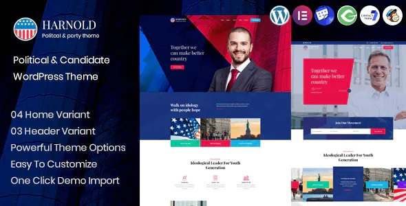Best Political Campaign WordPress Theme