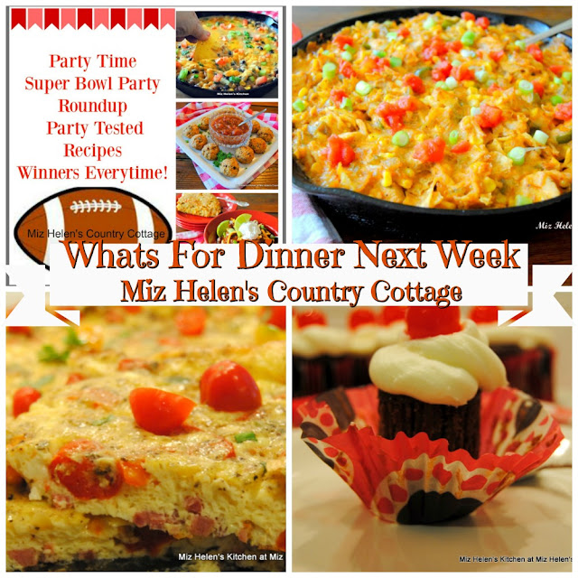 Whats For Dinner Next Week,2-2-20 at Miz Helen's Country Cottage