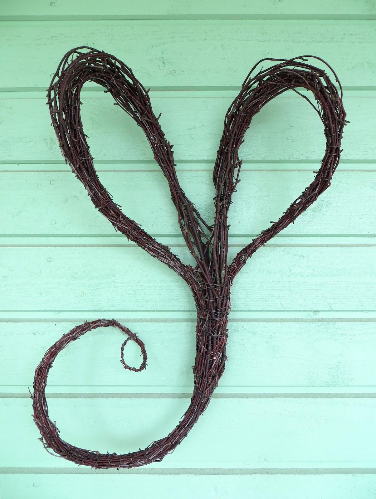 Twig heart Risusydän