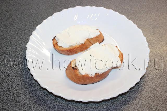 рецепт брускетты с прошутто и вялеными помидорами с пошаговыми фото