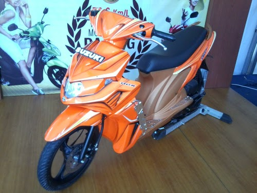modifikasi suzuki nex sporty