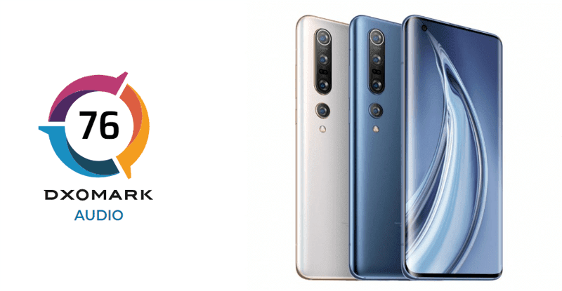 DxOMark: Xiaomi Mi 10 Pro has the highest audio rating yet