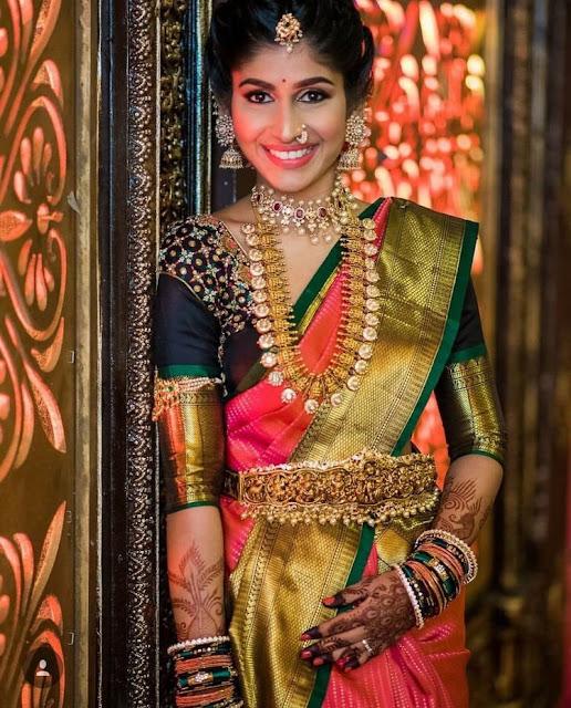 Bride in Radhakrishna Vaddanam