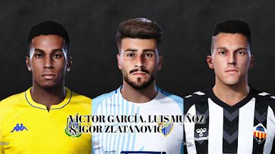PES 2021 Facepack La Liga SmartBank Vol 5 by Dani