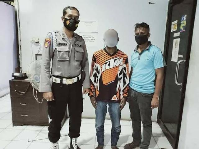 Pelaku Penganiayaan di Jalan Garuda Pasar Lama Diamankan Polsek Abepura