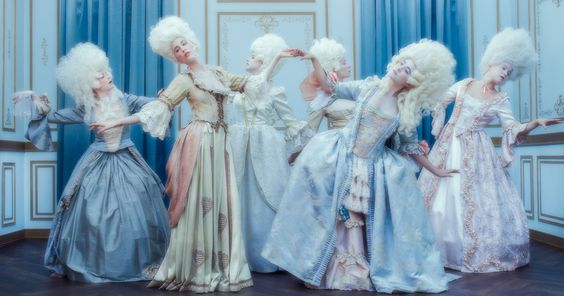 Marie Antoinette Decadence photography by Tyler Shields