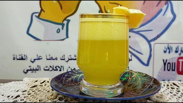 طريقة عمل عصير برتقال الشيف محمد الدخميسي