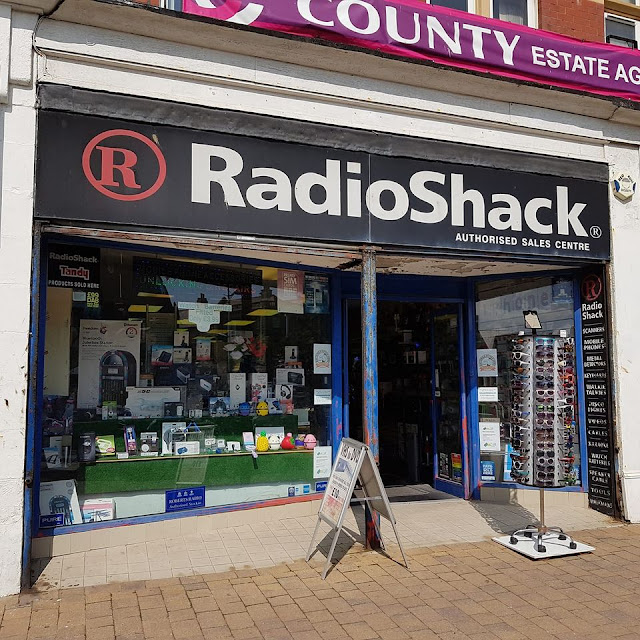 This RadioShack was the last of its kind in the UK