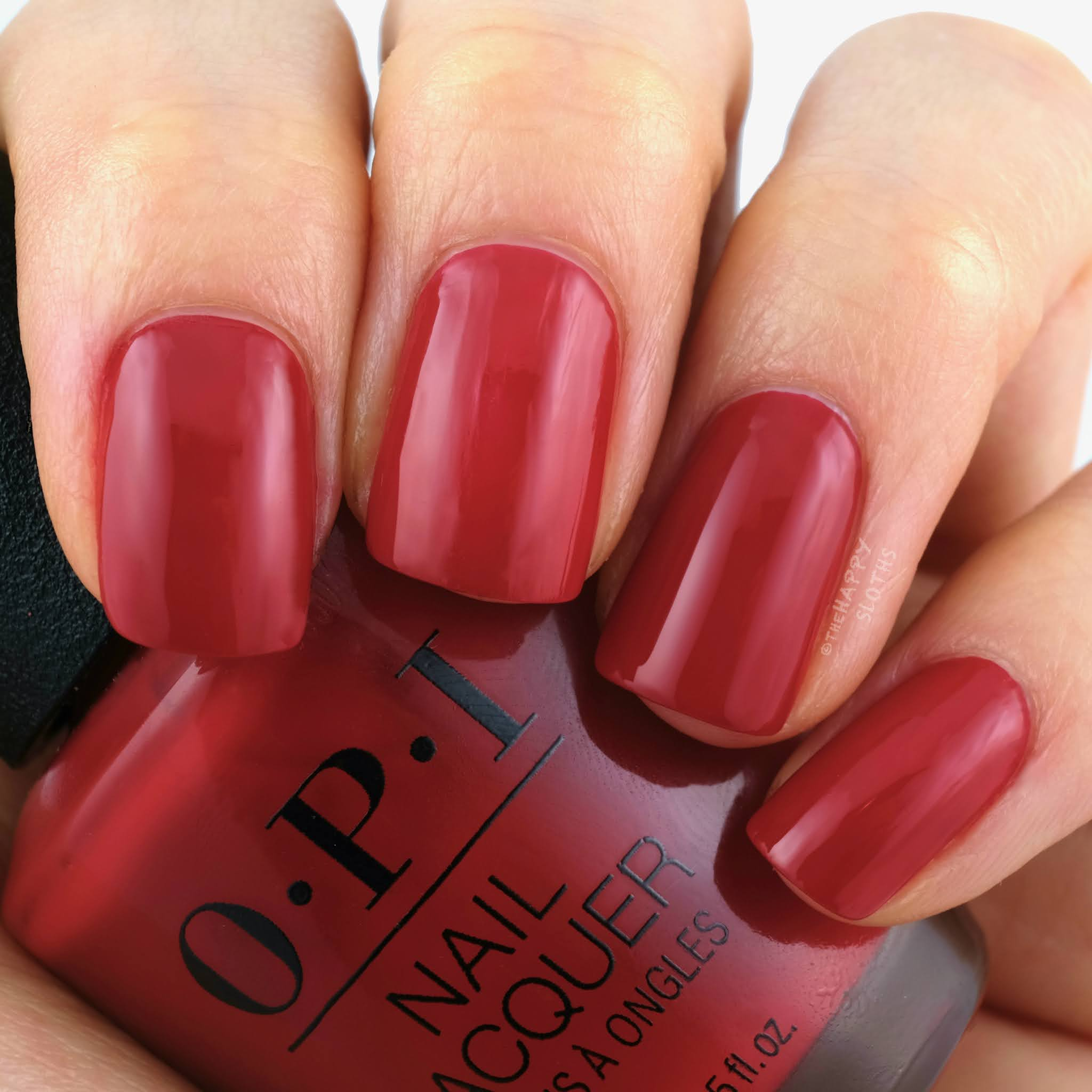OPI Holiday 2020 Collection | Red-y For the Holidays: Review and Swatches