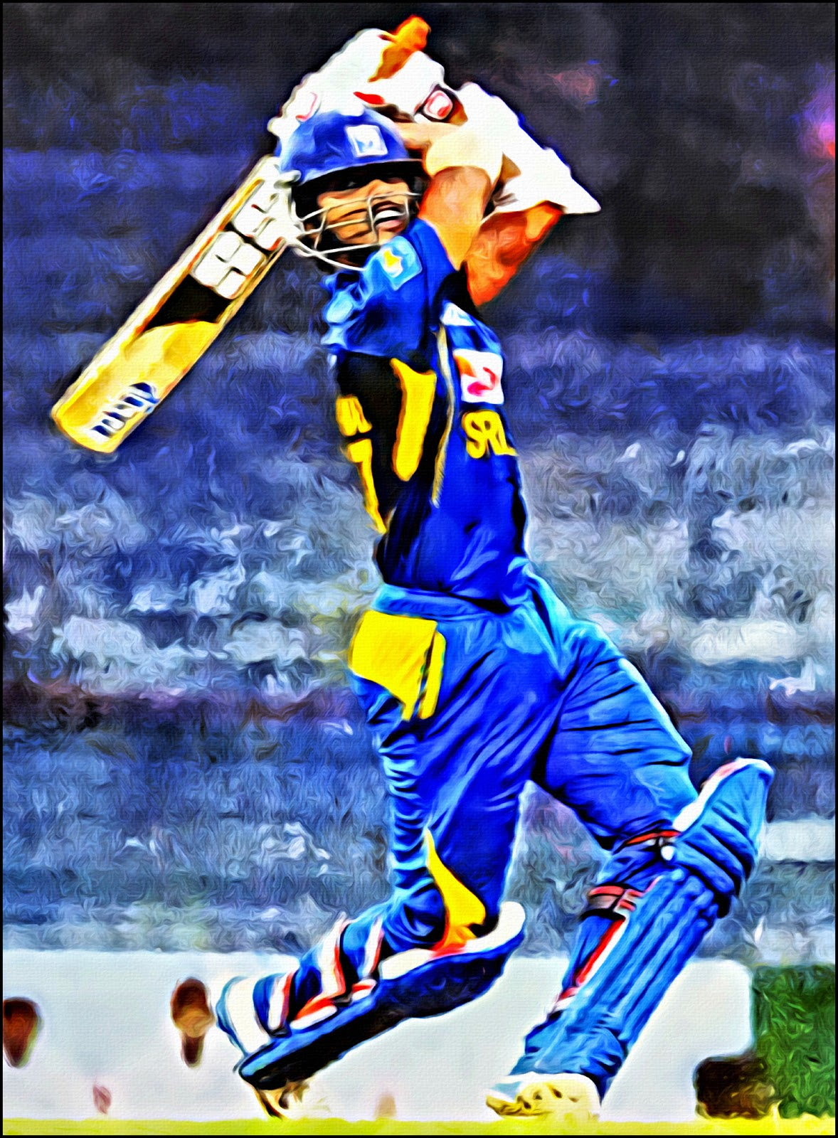 Cricket = Action = Art: 2013-07-21